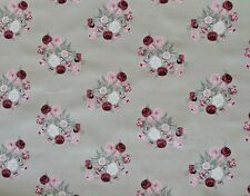 Sophie Allport Peony Floral Fabric Remnant Fat Quarter 100 x 50cm
