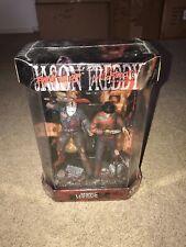 McFarlane Movie Maniacs Freddy Krueger vs Jason Voorhees Fishtank Bloody Edition