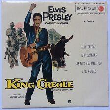ELVIS PRESLEY- ORIGINAL WORLDWIDE EP FROM SPAIN-KING CREOLE