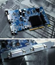 ATI Radeon 9600 pro _ 128mb (AGP): 2x DVI... Apple PowerMac g5