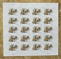Love Flourishes Wedding Sheet of 20 Forever Postage Stamps .