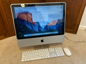 Apple iMac A1224 MA876LL mid 2007 2.0 Ghz Core 2 Duo T7300 4Gb 250Gb SSD upgrade