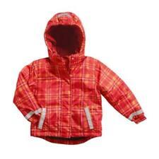 Manteaux, vestes et tenues de neige rouges en polyester pour fille de 2 à 16 ans Automne