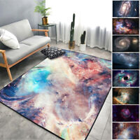 3D Nebula Sky Galaxy Floor Mat Non-slip Livingroom Kitchen Bathroom Rug Carpet
