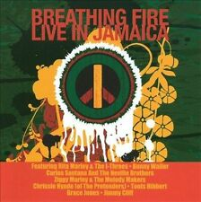 Breathing Fire Live In Jamaica Reggae CD Cliff Ziggy Rita Marley Santana Hynde