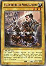 Yu-Gi-Oh 3x Kammerherr der sechs Samurai - - - SDWA