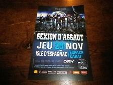 SEXION D'ASSAUT - Flyer recto verso !!! NOVEMBRE 2012 !!!