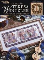 Teresa Wentzler Christmas Cross Stitch Chart Pattern Book