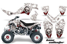 ATV Graphics Kit Quad Decal Wrap For Polaris Outlaw 500 525 2006-2008 BONES WHTE
