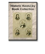 33 Rare Old KY Kentucky History Pioneers Family Tree Genealogy Books - B287