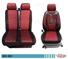 MAß Schonbezüge Sitzbezüge VW T4 / T5 / T6 TRANSPORTER / Caravelle 1+2 Sitze 901