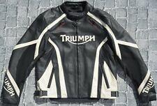 TRIUMPH MOTORRADJACKE MOTORRADLEDERJACKE SPEED TWIN TRIPLE STREET DAYTONA GR. 58