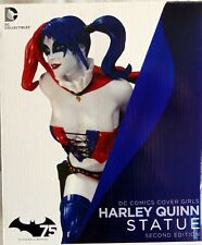 New Dc Comics Cover Girls Statue Figure Harley Quinn New 52 Version 2nd Edition