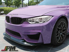 GTS Style Carbon Fiber Front Bumper Add-on Lip 2pc For 15-17 BMW F80 M3 & F82 M4