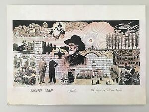 GIUSEPPE VERDI,'CENTENARY',RARE AUTHENTIC 2000 ART PRINT