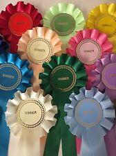 100 X Winner Rosettes Job Lot Great Value