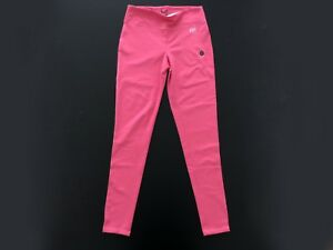 "PANTALONI LEGGINGS TUTA DONNA ""ABERCROMBIE AND FITCH"" COL. PINK TG. M ORIGINALE"