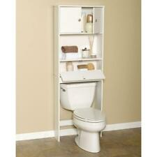 Bathroom Organizer Over The Toilet Bath Storage Shelf Cabinet Space Saver Wood