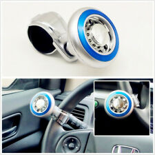 1 X Car&Boat&Marine&Vehicles Steering Wheel Ball Suicide Knob Power Spinner Blue