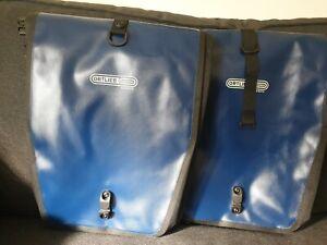 Ortlieb Classic Panniers - pair - Black Waterproof Hard Wearing