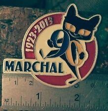 VINTAGE S.E.V. MARCHAL FOG LIGHTs bulb HISTORY FOR SALE CAT LOGO CAR BADGE VESPA
