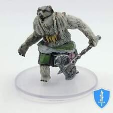 Oyaminartok the Goliath Werebear - Icewind Dale Rime of Frostmaiden #26 D&D Mini