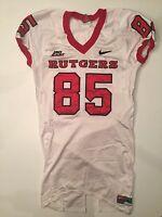 NIKE Rutgers Game Worn Football Jersey #85 2007 Big East Scarlet Knights