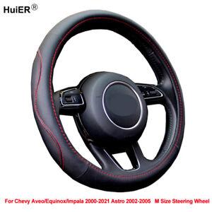 Auto Car Steering Wheel Cover Wrap For Chevrolet Chevy Aveo Equinox Impala Astro