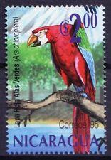Red-and-green Macaw, Ara chloropterus, Birds, Nicaragua 1995 MNH  (A42)