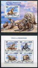 MALEDIVEN MALDIVE 2013 Robben Seals Meeressäugetiere ** MNH