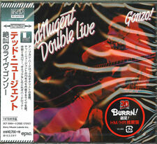 TED NUGENT-DOUBLE LIVE GONZO-JAPAN 2 BLU-SPEC CD2 G09