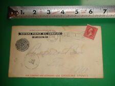 JB305 Antique Envelope Cover Ad Waters Pierce Oil Co St.Louis MO 3/20/1900 PM
