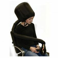 PRO HAIRDRYER HOOD BLACK UNIVERSAL PORTABLE SALON HAIRDRESSER HOME PERSONAL USE