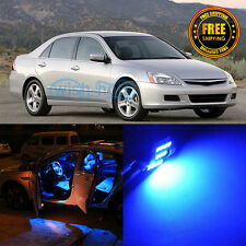 10Pcs 12V Durable Blue Interior LED SMD Package Kit For 2003-2007 Honda Accord
