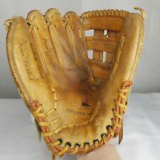 "Vintage Montgomery Ward Pennant Series Baseball Glove LFT Left Hand Throw 12"""