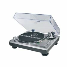 Audio Technica Direct Drive 3 Speed Professional USB & Analog Turntable, Silver