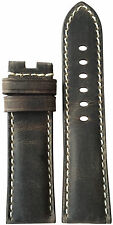 22mm XL RIOS1931 for Panatime Stone Leather Watch Strap for Panerai Deploy 22x20