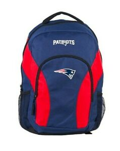 """New England Patriots Backpack NFL DraftDay Green School Backpack 18"""""""