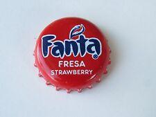 SODA Beer Bottle Crown Cap: FANTA Fresa Strawberry Drink ~ Coca-Cola Corporation