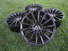 "20"" Mercedes s63 s65 Wheels Rims Black oem Genuine w222 S400 cl63 cl63 s550 19"