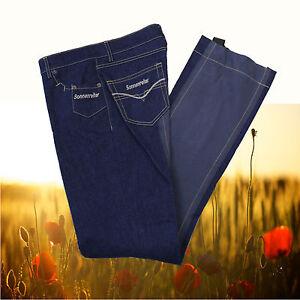 Sonnenreiter Norderney Damen Jodhpur Reithose, Sonnenreiter Jeans, dkl.blau, 76