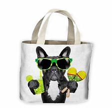 French Bulldog Brazilian Style Tote Shopping Bag For Life - Bulldogs
