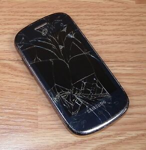 Samsung Galaxy Centur SCH-S738C - 4GB - Gray (TracFone) CDMA Smartphone **READ**