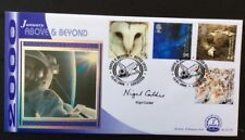 18.1.2000 Above And Beyond-Space-Signed Nigel Calder-Science Writer-Benham FDC