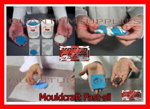 Mouldcraft Fast-Sil 16g-1kg Mould Making Silicone Putty RTV Food safe Sugarcraft