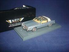 Cadillac Eldorado Biaritz Blue 1980 NEO 43501 1/43