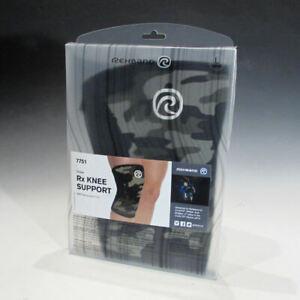 Rehband 7751 Rx Knee Support (Camo, Large), 5mm Neoprene Brace - Retail Return