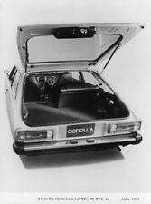 1976 Toyota Corolla Liftback TTC-L Press Photo 0012