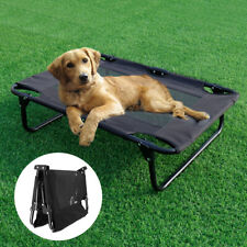 Elevated Pet Sleep Bed Dog Cat Foldable Cool Cot Home Outdoor Portable Hammock