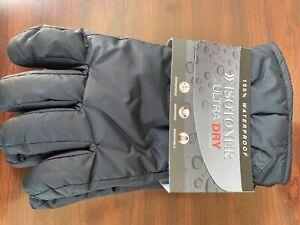 Isotoner Ultra Dry Gloves XL Black